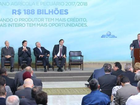 FecoAgro/RS avalia Plano Agrícola e Pecuário 2017/2018 como o possível
