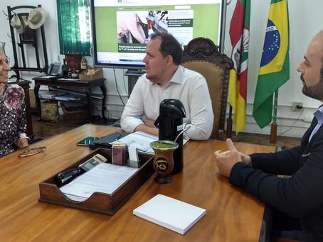 Simvet/RS se reúne com Secretário da Agricultura do Rio Grande do Sul