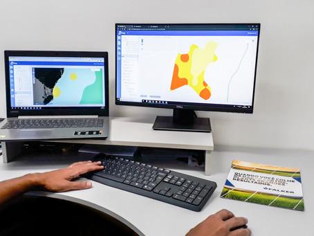 Mapeamento de área auxilia produtor na tomada de decisão sobre a lavoura