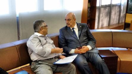 Presidente da Coopermil debate reforma da previdência com ministro