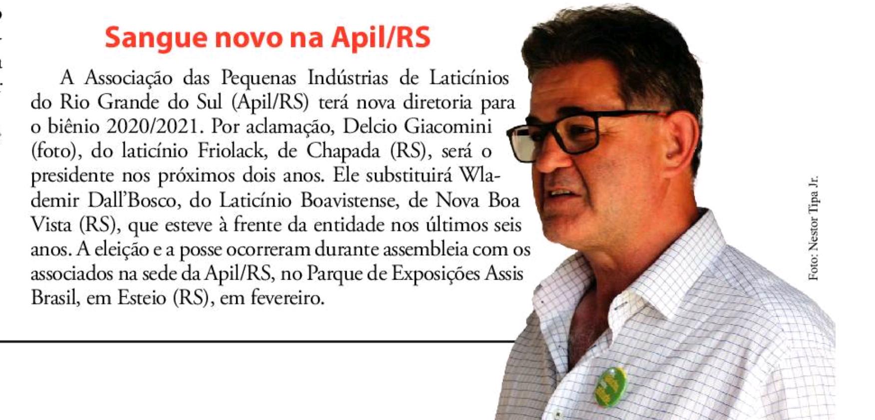 Cliente: Apil/RS