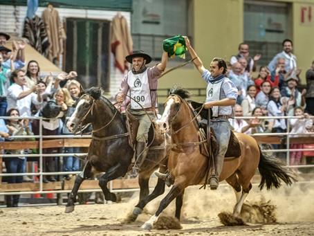 Brasil recebe este mês a Copa do Mundo do Cavalo Crioulo