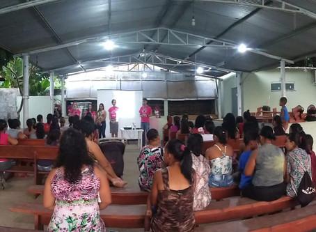 Prevenção ao câncer de mama mobiliza mulheres em comunidades da Bahia