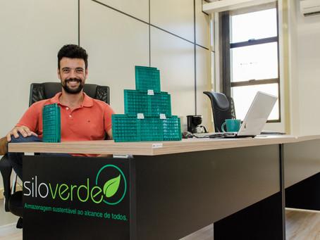 Startup do campo cria silos reciclando garrafas PET