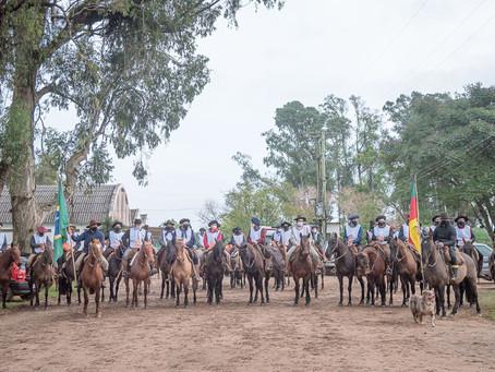 Foi dada a largada à Marcha de Resistência do Cavalo Crioulo