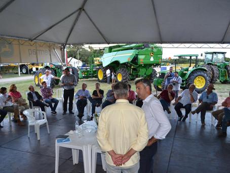 Federarroz debate demandas do setor arrozeiro com secretários gaúchos