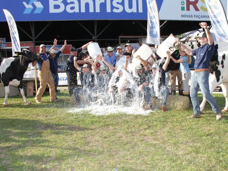 Concurso leiteiro da raça holandesa tem campeãs de um mesmo produtor