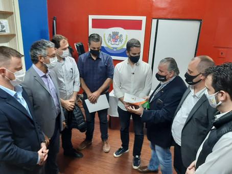 Arrozeiros pedem ao governador do Estado medidas emergenciais para o Irga