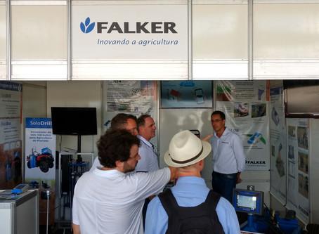 Falker apresenta linha para agricultura de precisão durante a Expodireto
