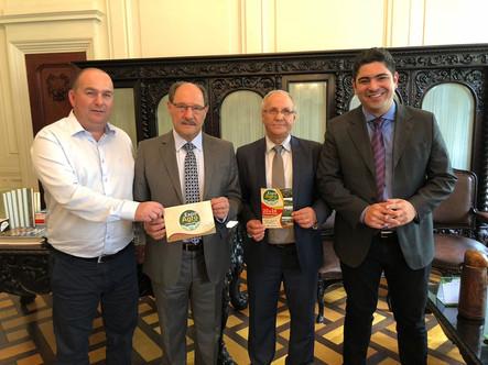 Cotricampo convida autoridades estaduais para a Expo Agro 2018