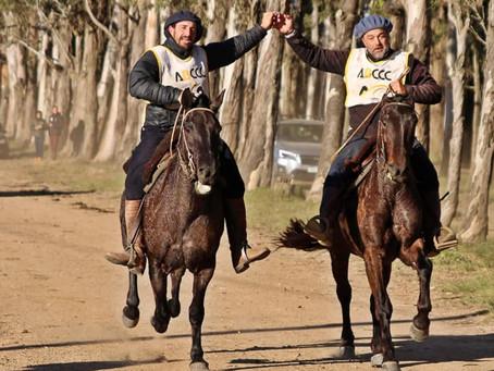Éguas uruguaias vencem Marcha FICCC com 22 segundos de diferença