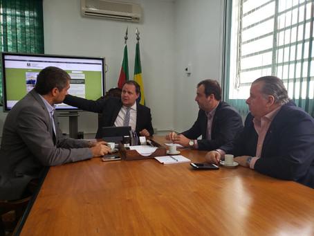 Secretário da Agricultura recebe pautas do setor arrozeiro gaúcho