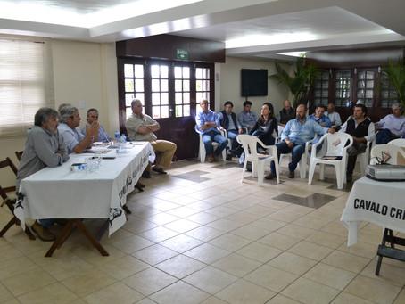 Diálogo marca o início da gestão da nova diretoria da ABCCC