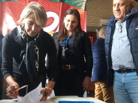 Simvet/RS e Unijuí celebram parceria durante a Expointer