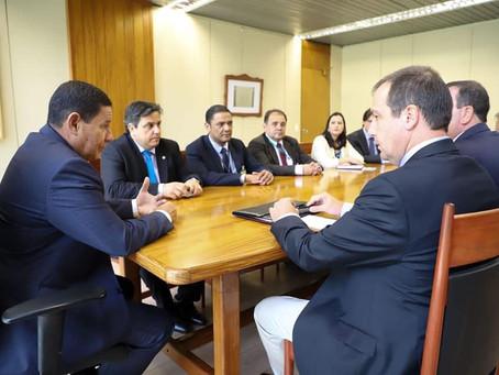 Federarroz entrega demandas do setor orizícola ao vice-presidente da República