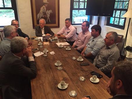 Nova rodada com o governo gaúcho discute pauta prioritária do setor arrozeiro