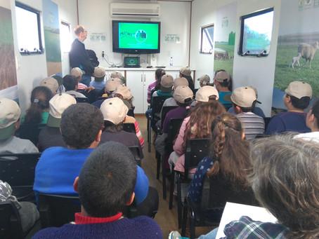 Semana Arrozeira prestigia polos educacionais da área rural