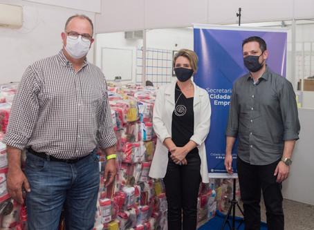 ABCCC inicia repasse de doações de campanha de combate ao Coronavírus