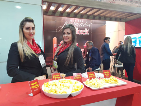 Associados da Apil/RS apostam no queijo provolone na Expoagas