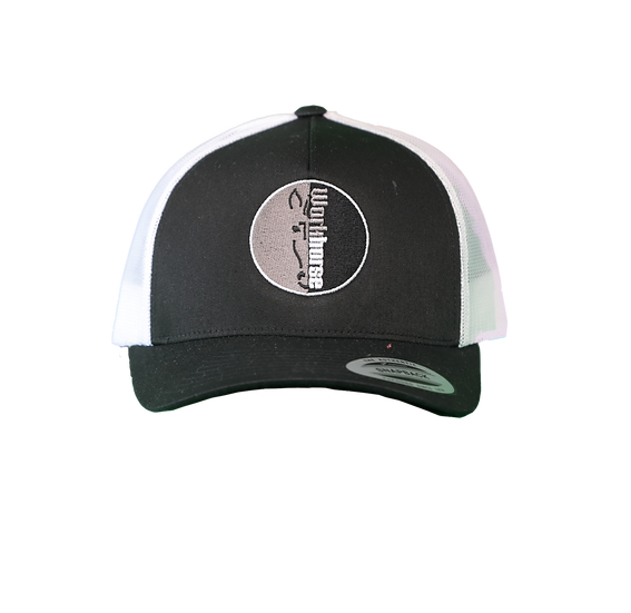 Workhorse Pits White/Black Hat