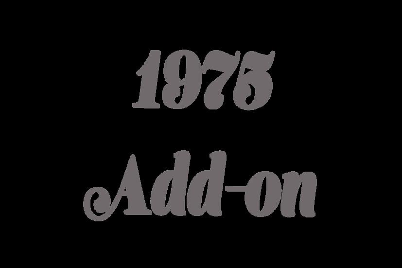 1975 Add-on