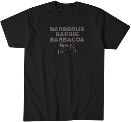 Barbecue Languages Black