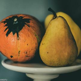 INSITU photographie Mâcon poires et potimarron
