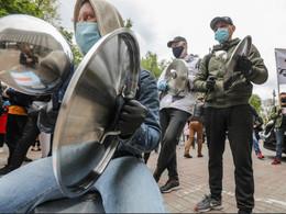 Всеукраїнська ресторанна акція протесту 11.11.20 #маюправопрацювати