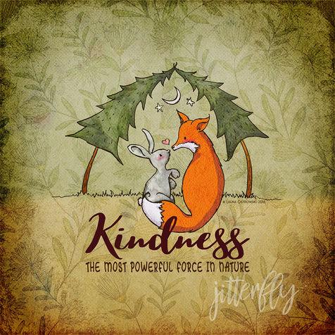 Kindness Fox & Bunny