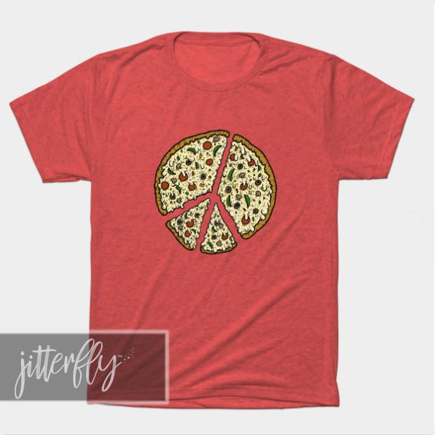 Peace Pizza Shirt