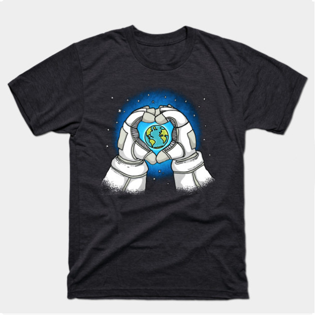 Astronaut Loves Earth t-shirt