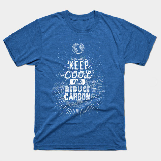 Keep Cool Reduce Carbon t-shirt