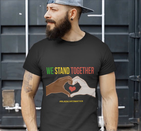 We Stand Together, BLM Heart Hands