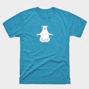 Meditating Polar Bear Shirts & Gifts