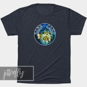Funny Badge Band Camp Shirt
