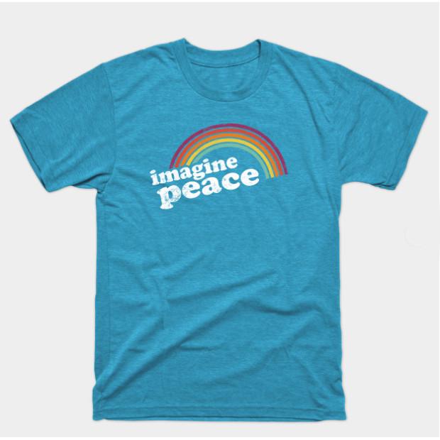 Image Peace Retro Rainbow Shirts & Gifts