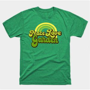 Green Peace Love Garden Shirts & Gifts