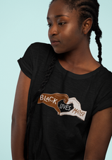 Black Lives Matter Heart Hands