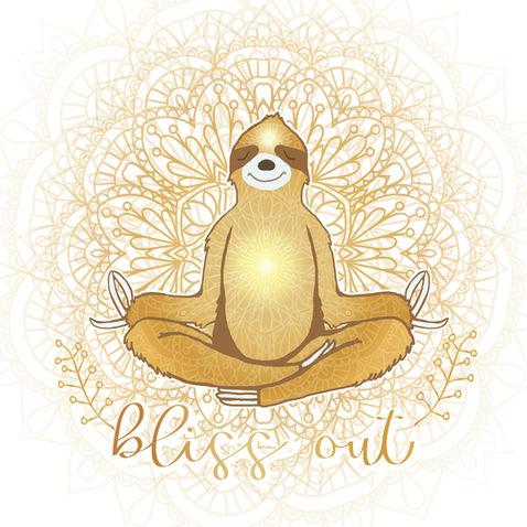 Zen Sloth Bliss Out