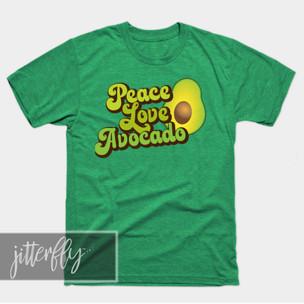 Peace Love Avocado Shirt