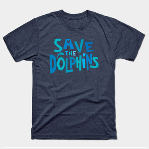 Savae the Dolphins t-shirt