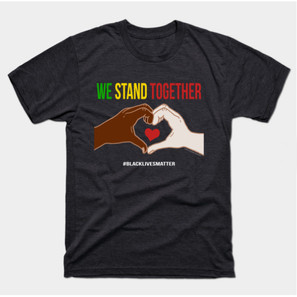 We Stand Together Hearth Hands BLM