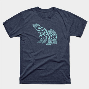 Save Polar Bears t-shirt