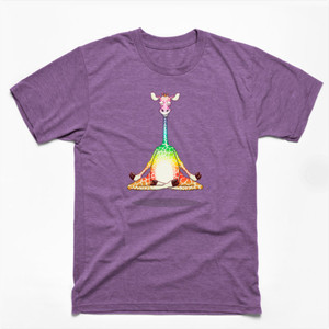 Giraffe Meditating Shirts & Gifts