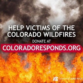 SUPPORTS 2020 COLORADO WILD FIRE VICTIMS