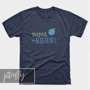 Respect the Blueberry Shirt