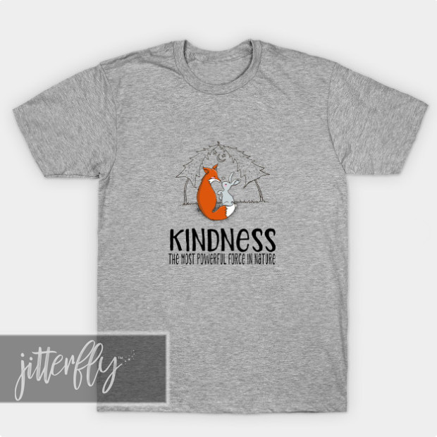 Fox and Bunny Kindness Shirts & Gifts