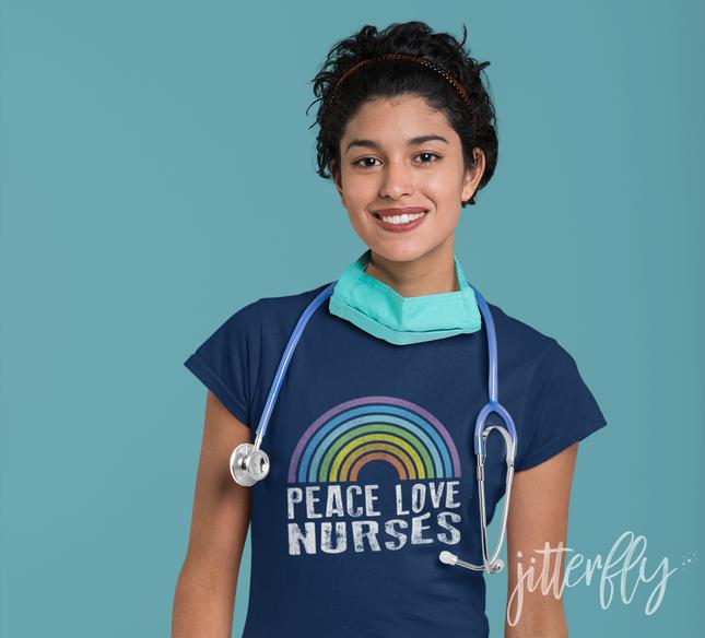 Peace Love Nurses