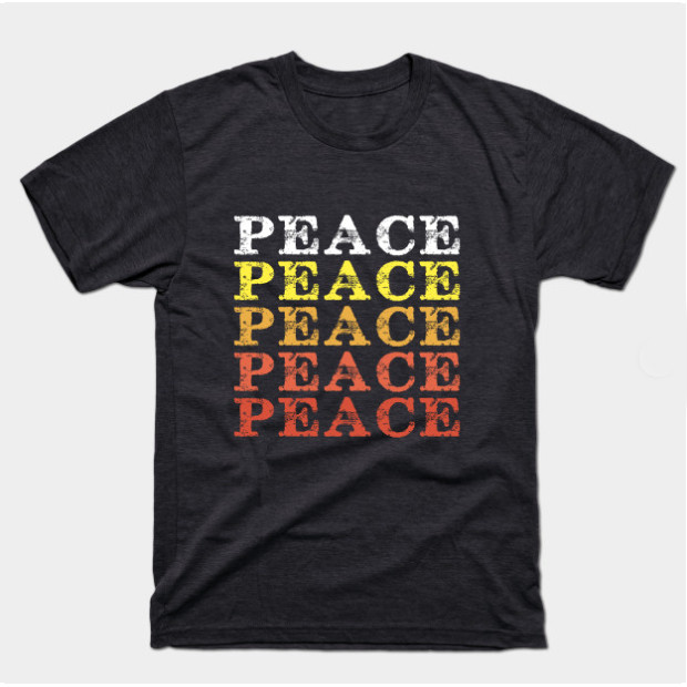 Vintage Repeating Peace Shirts & Gifts
