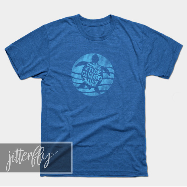 Change the Tide of Climate Change Turtle Shirts & Gifts